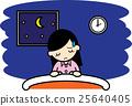 insomnia, sleeplessness, female 25640405