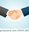 handshake concept between two businessmen 25645186