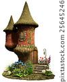 Fairy castle tower house 25645246