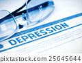 Depression. Medicine. 3D Illustration. 25645644