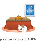 炬燵 貓 貓咪 25648897