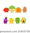 蔬菜 矢量 矢量图 25650738