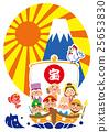 海鲷七宝神和富士山的宝藏 25653830