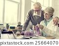 female, knitting, leisure 25664070