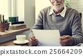 letter, reading, senior 25664209