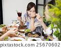 女性 女 女人 25670602