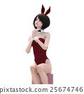 兔女郎 兔子 兔 25674746