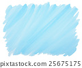 blue watercolor background with frayed edges 25675175