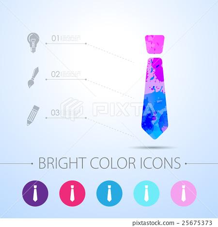 Vector watercolor icon  25675373