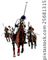 Polo Sport Player on horseback 25681315