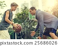 Basketball Athlete Sport Skill Playing Exercise Concept 25686026
