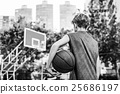 Basketball Athlete Sport Skill Playing Exercise Concept 25686197