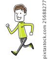 健身 健康 矢量 25688277