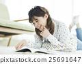 여성, 여자, 젊다 25691647