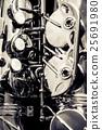 Saxophone alto jazz music instrument close up  25691980