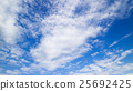 藍天天空雲彩秋天天空背景材料10月復制空間 25692425