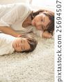 小睡 打盹 嬰兒 25694507