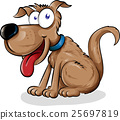 dog cartoon. 25697819