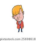 Man picking his nose cartoon 25698618
