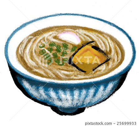Illustration material Noodle noodles 25699933