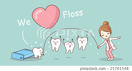 We love floss 25701548