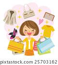 购物 女生 女孩 25703162
