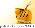เทมเพลตโปสการ์ดปีใหม่เสือปีเสือ 25704416