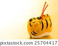 เทมเพลตโปสการ์ดปีใหม่เสือปีเสือ 25704417
