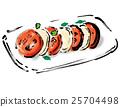 番茄沙拉 卡普雷塞 番茄 25704498
