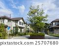 주택가, 주택지, 주택 25707680