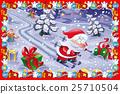 Funny Christmas card 25710504