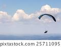 parasailing, parachute, sky 25711095