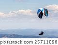 parasailing, parachute, sky 25711096