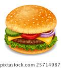 汉堡 矢量 矢量图 25714987