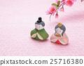 히나 인형, 복숭아 꽃, 히나마츠리 25716380