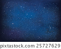 Vector night  sky background. 25727629
