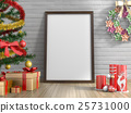 Top view of christmas background. 25731000