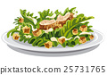 salad caesar with croutons 25731765