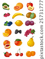 various fresh fruits 25731777