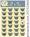 Cat emoji icons 5 25732964