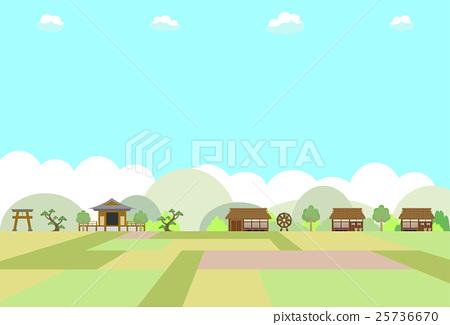 Rural landscape 25736670