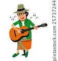 吉他 演奏 表演 25737244