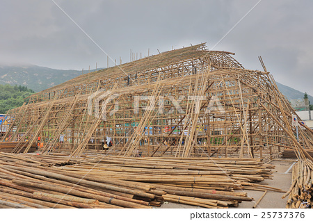 china bamboo opera building at shek o 25737376