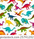 dinosaur, pattern, cartoon 25741202