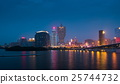 Skyline of Macau city at Nam Van Lake 25744732