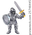 Knight Cartoon Mascot 25746445