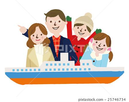 ครอบครัว,เรือ,ฤดูหนาว 25746734