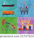 oil gasoline rig 25747920