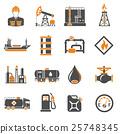 oil icon rig 25748345