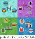 oil rig icon 25748346